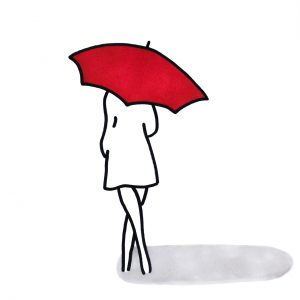 Umbrella-Lady